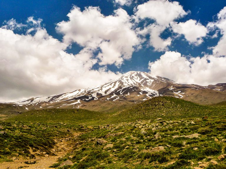 Trekking around Sabalan and Damavand
